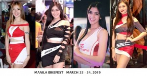 Manila Bikefest with SEC Motosupply and MWorld trading- March 22-24,2019 at World Trade CROP