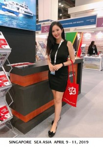 Natalie at SEA Asia April 9-11,2019 in SingaporeCROP